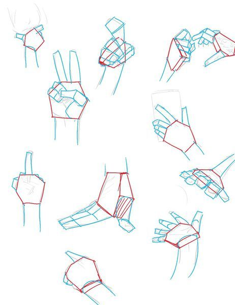 [教學]手的畫法篇 @ remiashamill的拉哩拉雜 :: 痞客邦 ::