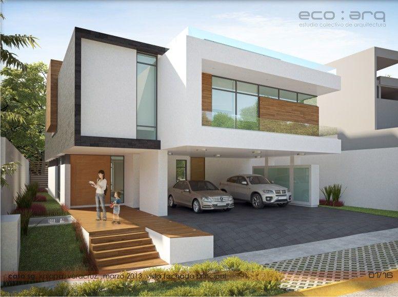 Casa sg eco arquitectura xalapa veracruz m xico for Casa minimalista veracruz