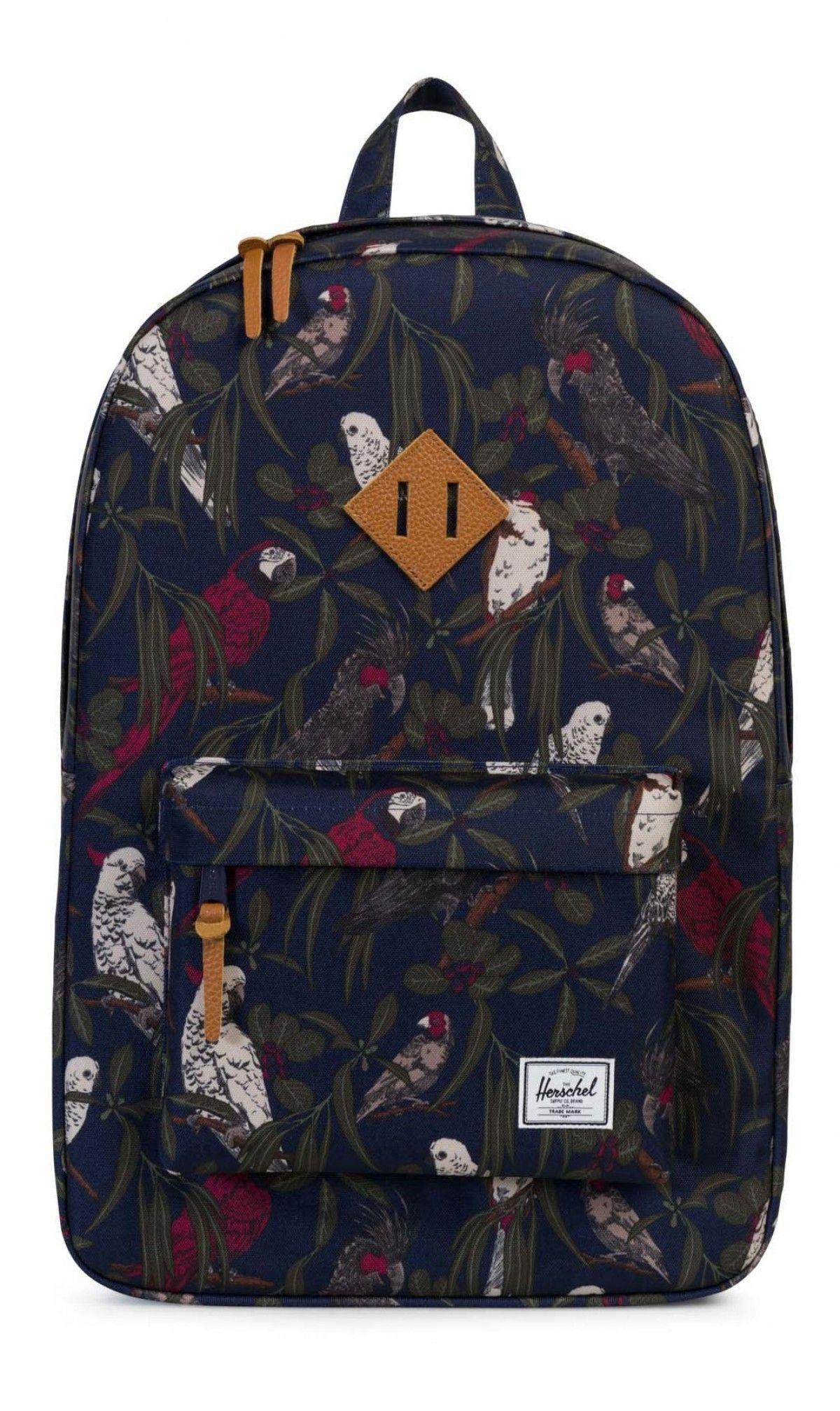 Herschel Heritage Backpack 600D Poly Peacoat Parlor  1678826aec484