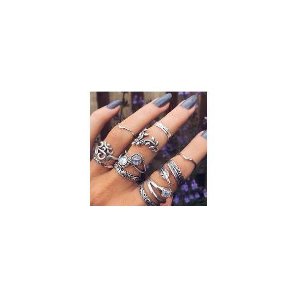 Over de Anéis via Polyvore featuring rings