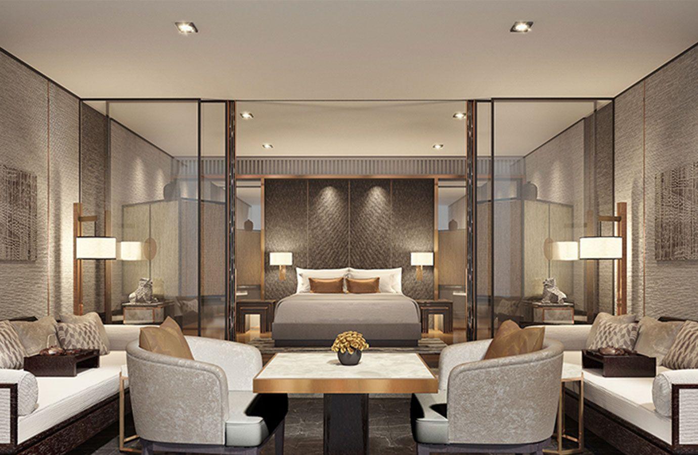 Regent xi an blink asia born internationally for Guest room interior design