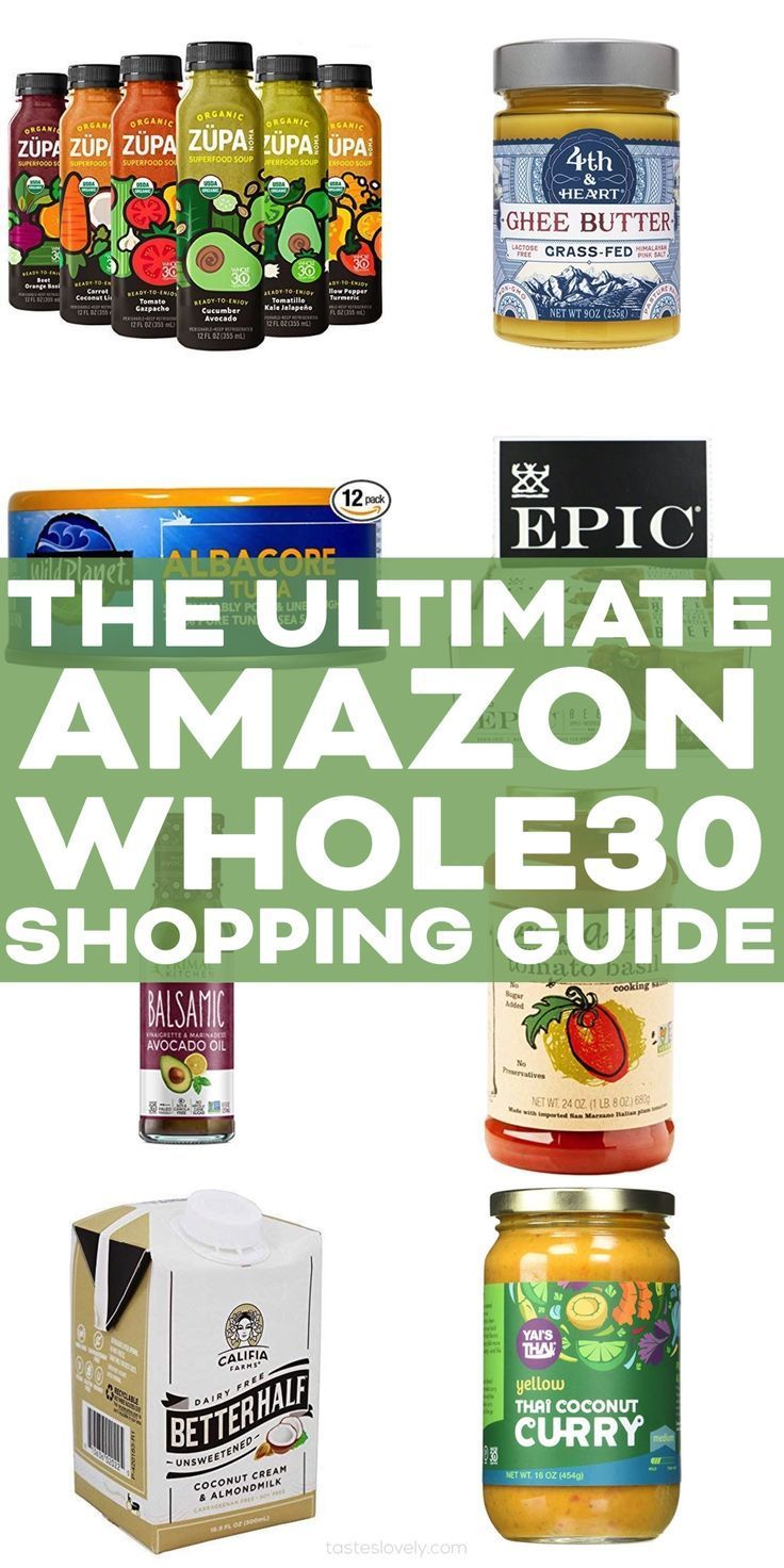The Ultimate Whole30 Amazon Shopping Guide an extensive