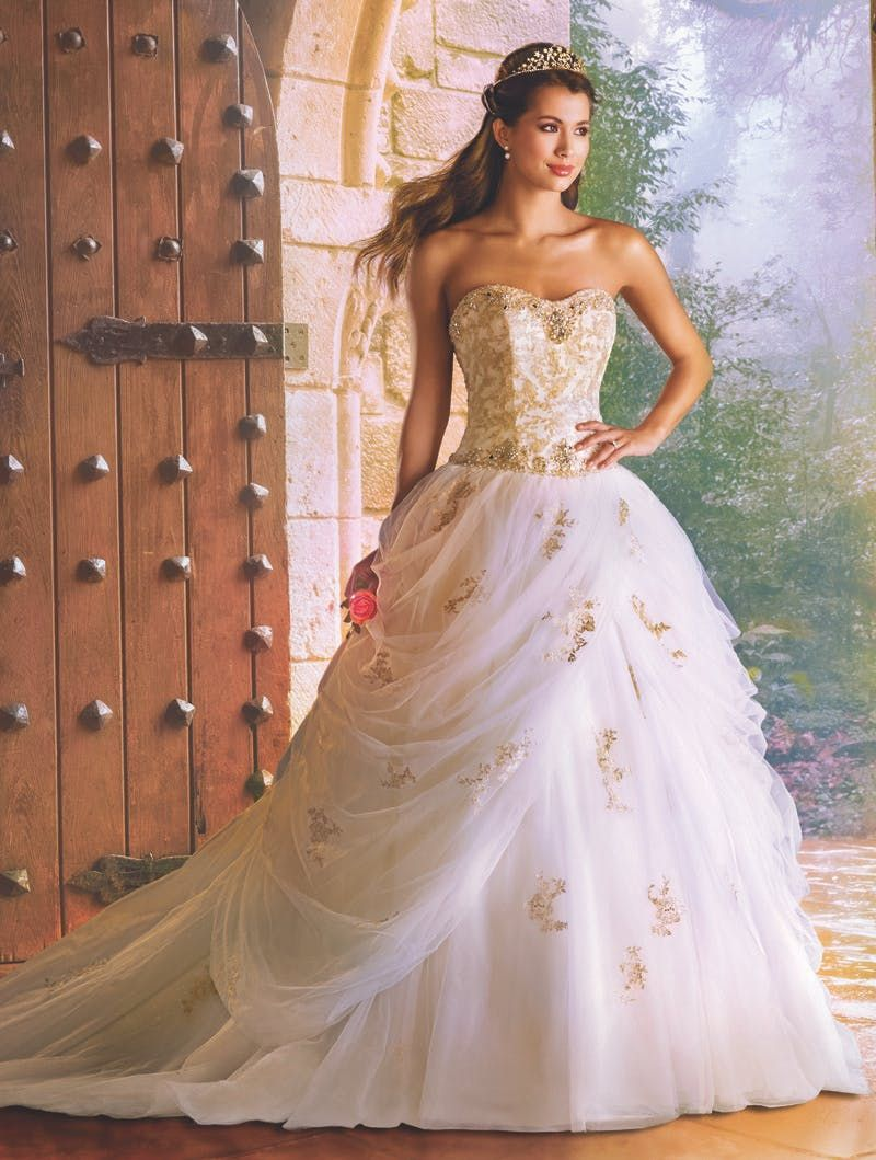 Alfred Angelo Disney Fairy Tale Weddings Bridal Collection Belle Wedding Dresses Disney Princess Wedding Dresses Disney Wedding Dresses [ 1059 x 800 Pixel ]