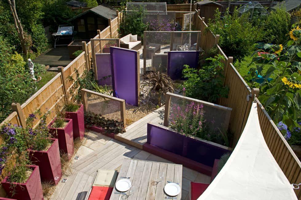 Party Garden In Sevenoaks Kent Modern Garden By Earth Designs Modern Homify Modern Garden Contemporary Garden Design Garden Design