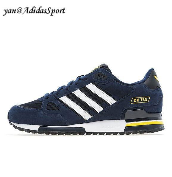 cinta aburrido Izar  Hombres Zapatillas Running Adidas Originals ZX 750 Marino/Blanco/Amarillo  Outlet Tienda Online | Adidas, Adidas sneakers, Adidas originals