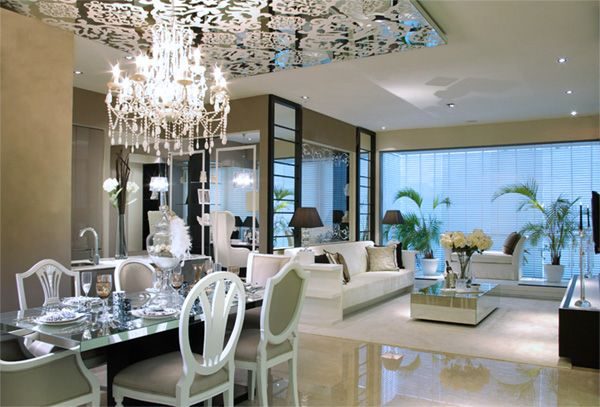 Modern Baroque Design designs in mixing modern Traditional