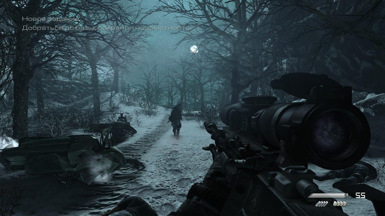 Very Cool Sniper Night Mission From Call Of Duty Ghosts Call Of Duty Ghosts Call Of Duty Sniper