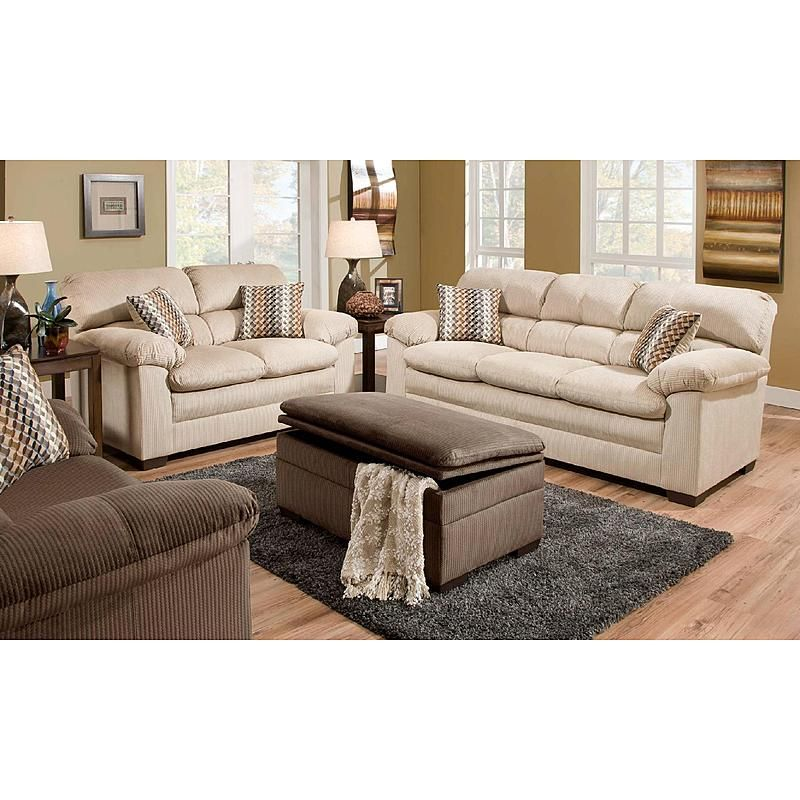 Simmons Lakewood Sofa Doe Loveseat Living Room Living Room Upholstery Living Room Sofa