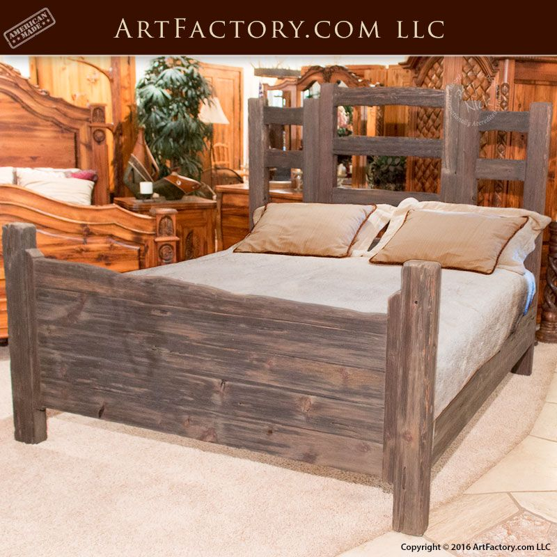 Custom Wood Furniture - Western Bedroom Set - Scottsdale Art ...