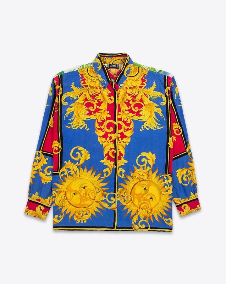 versace shirt vintage