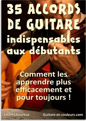 Apprendre les accords de guitare pdf