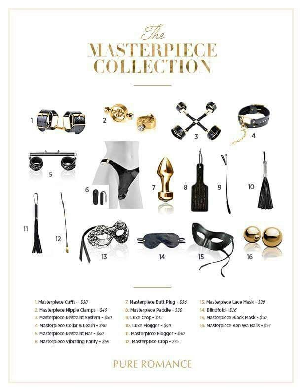 50 Shades Inspired Masterpiece Collection Www.pureromance.com/Giannadiamond