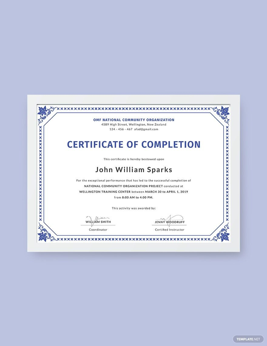 Certificate Of Project Completion Template Free Pdf Google Docs Illustrator Indesign Word Apple Pages Psd Publisher Template Net Certificate Of Completion Template Certificate Design Template Certificate Templates Microsoft publisher award certificate templates