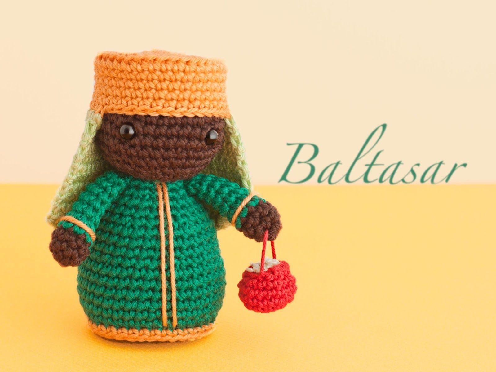 Tutorial De Amigurumis Navideños : Amigurumi magi balthazar free crochet pattern tutorial merry