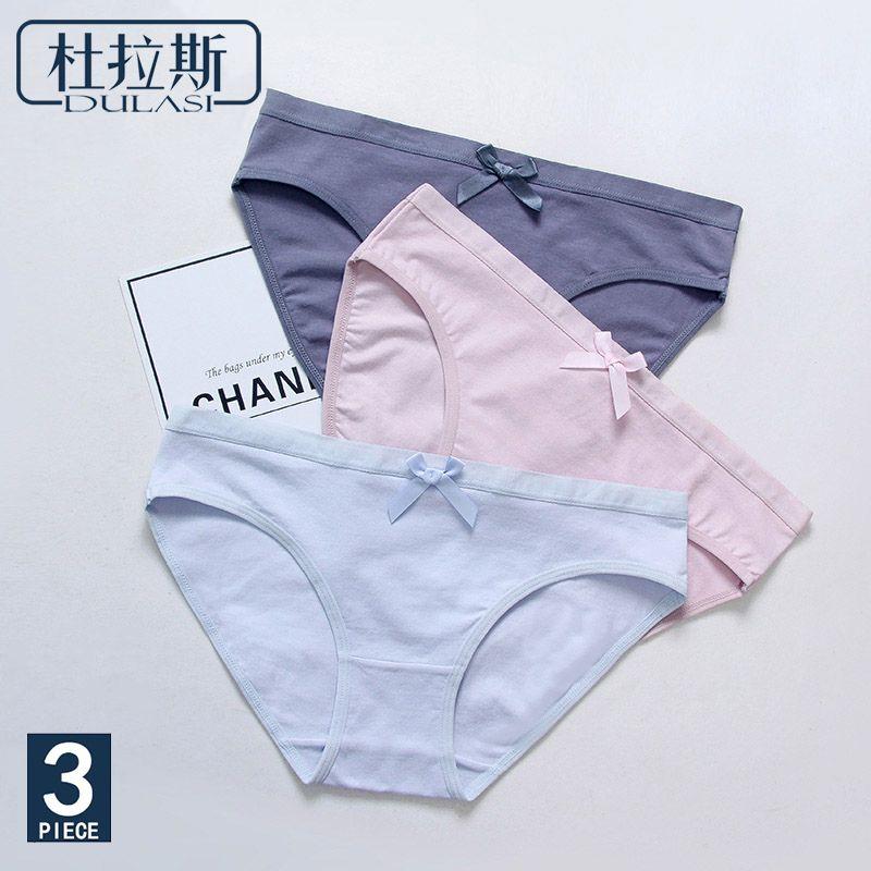 cb4b9a7d9950d Cheap 3 unids lote algodón bragas Sexy ropa interior de las mujeres  inconsútiles calzoncillos marcas