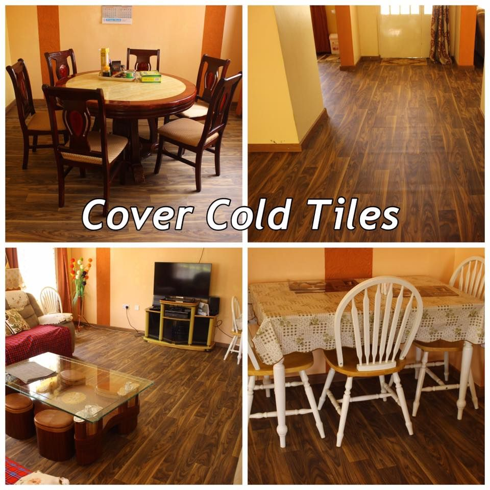 Cover Cold Tiles With Beauflor Cushion Vinyl Flooring