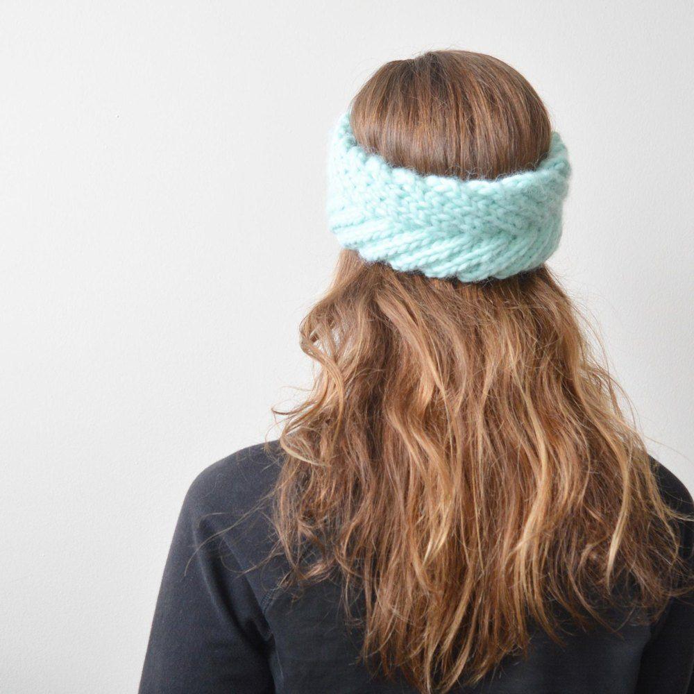 Fishtail Braided Headband Knitting pattern by Callisto ...