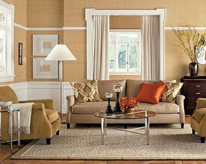 115 schöne Ideen für Wohnzimmer in Beige! | Moderne ...