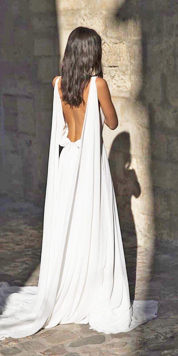 21 Best Of Greek Wedding Dresses For Glamorous Bride | Wedding Forward #greekweddingdresses