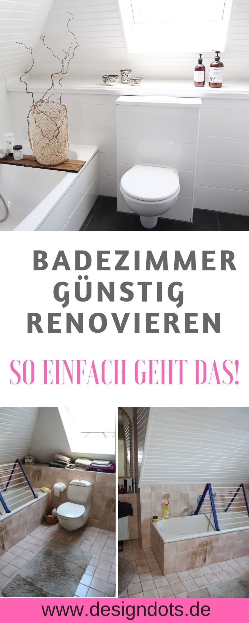 Badezimmer Selbst Renovieren In 2020 Amazing Life Hacks Toilet Home Decor