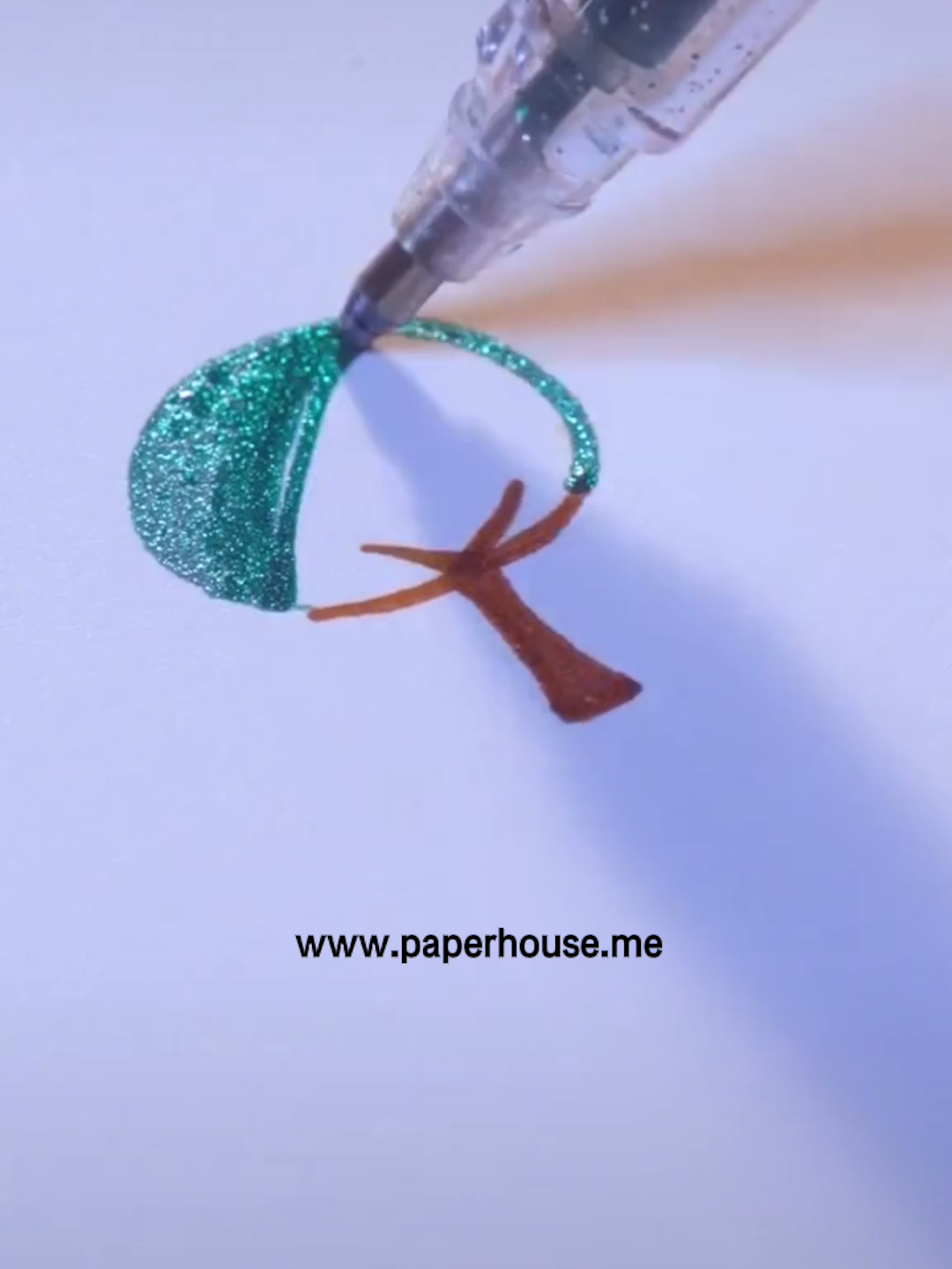 """Photo of Bold Line Glitter Pen?www.paperhouse.me?Get $3 with code """"PIN3""""?Paperhouse Stationery"""
