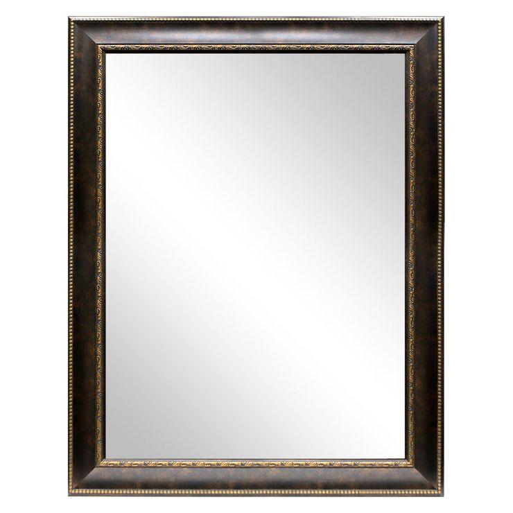 36 X 48 In Bronze Beaded Bianca Mirror Mirror Bronze Big Kids Room 36 x 48 framed mirror