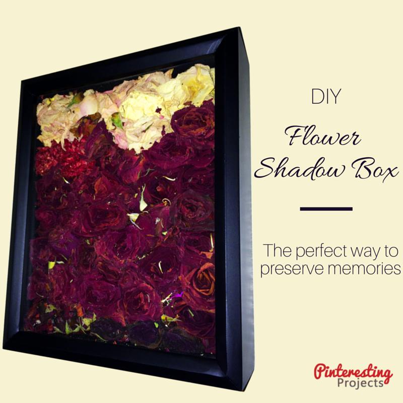 DIY Dried Flower Shadow Box Tutorial | FL❤️WERS | Pinterest ...