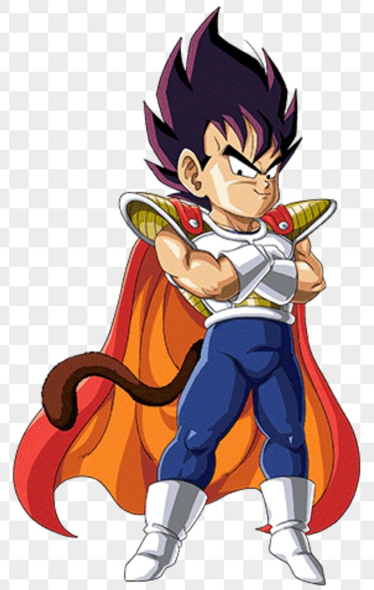 Petit Vegeta Anime Dragon Ball Kid Vegeta Dbz Characters
