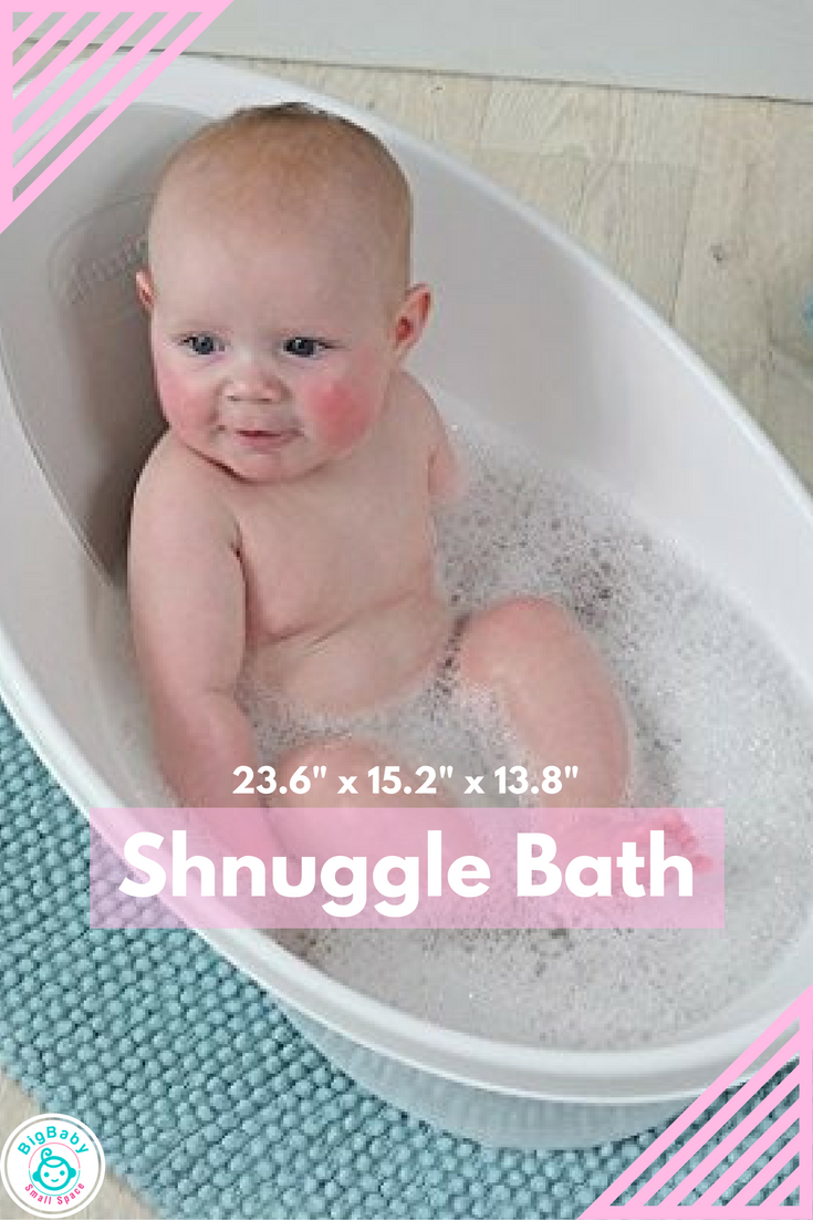 The Shnuggle bath makes baby bath times easier and safer. The small ...