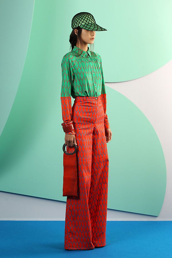 Kenzo style. Could see this in Harajuku area this summer!