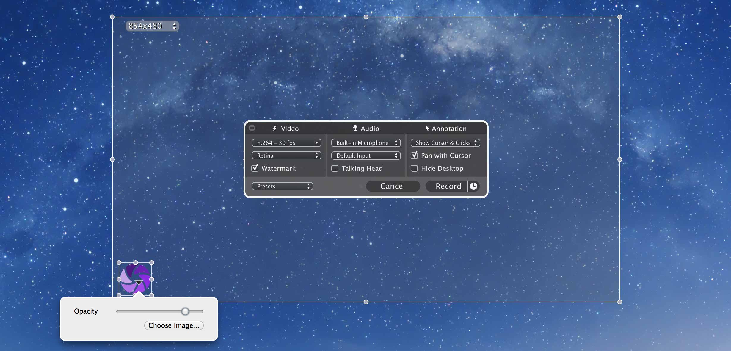 Iris Screen recorder for Mac OS X Screen recorder, Mac