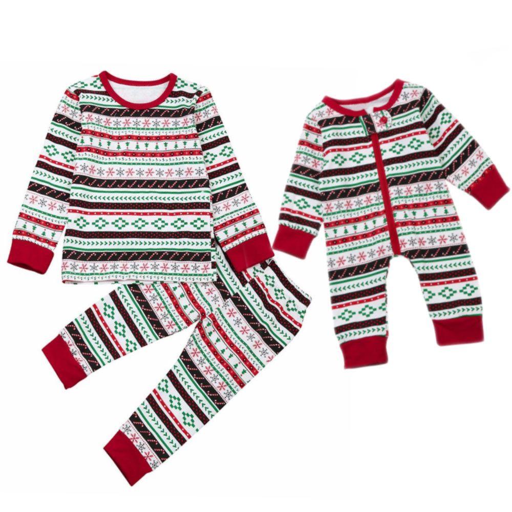 Toddler Christmas Pajamas.Baby Toddler Matching Christmas Pajamas