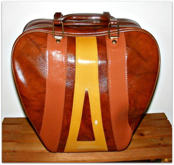 Hey I Found This Really Awesome Etsy Listing At Https Www Etsy Com Listing 219625352 Vintage Brunswick Bowling Ball Bag With Images Bowling Ball Bags Bags Bowling