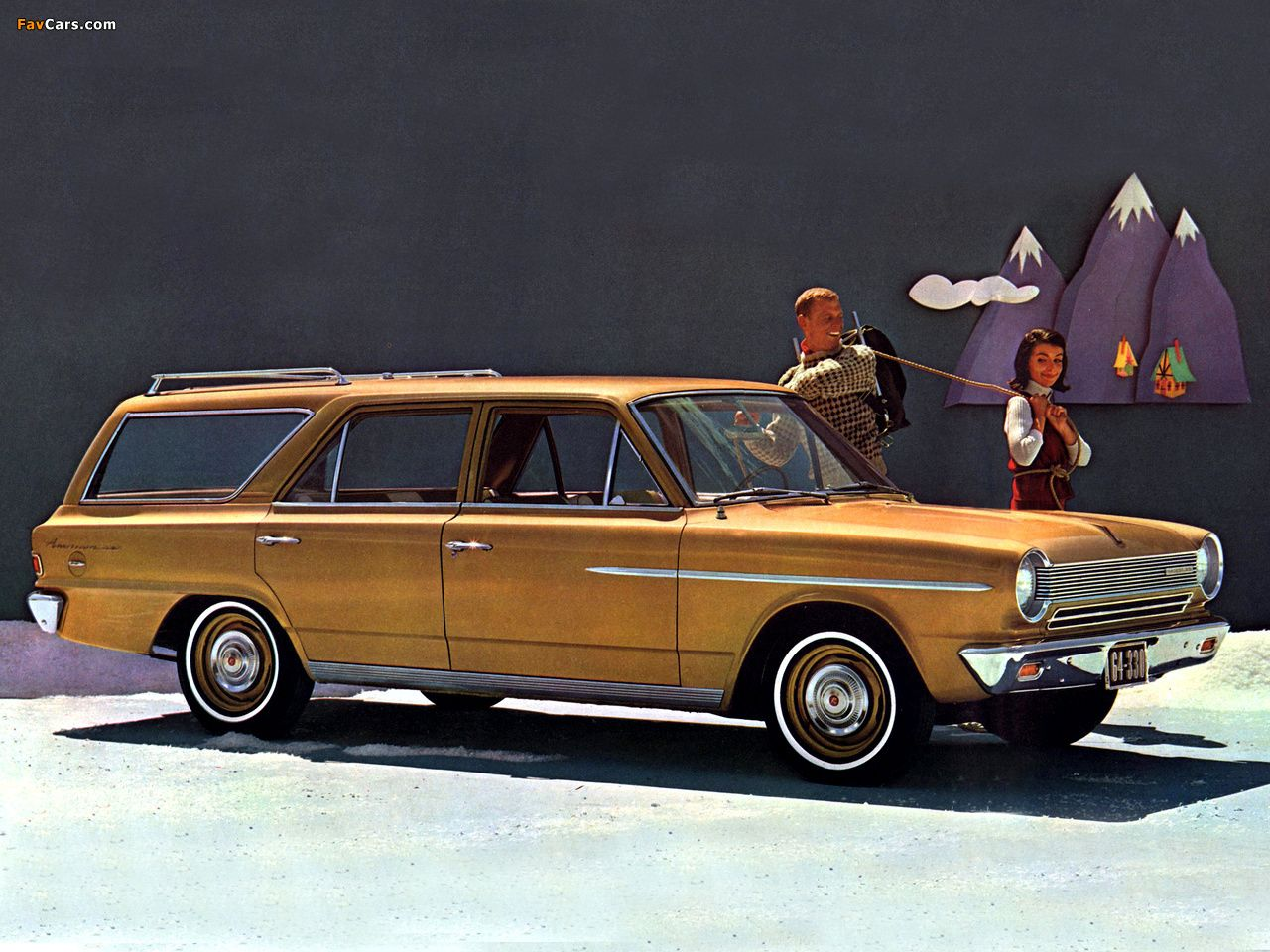 1964 rambler american 330 wagon meet me at the station. Black Bedroom Furniture Sets. Home Design Ideas
