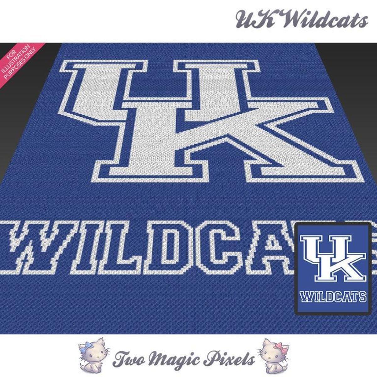 UK Wildcats Crochet Graph