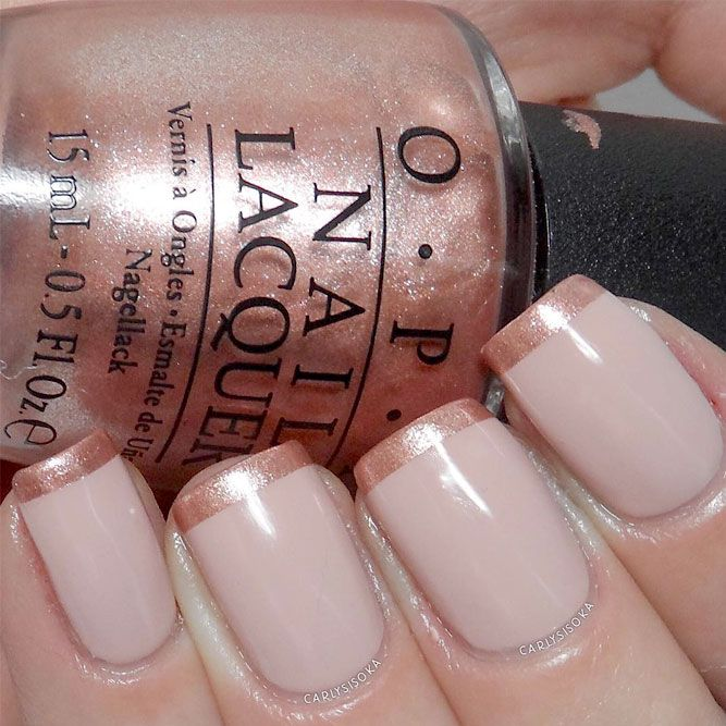 French Manicure Designs You Must Try See More Http Glaminati