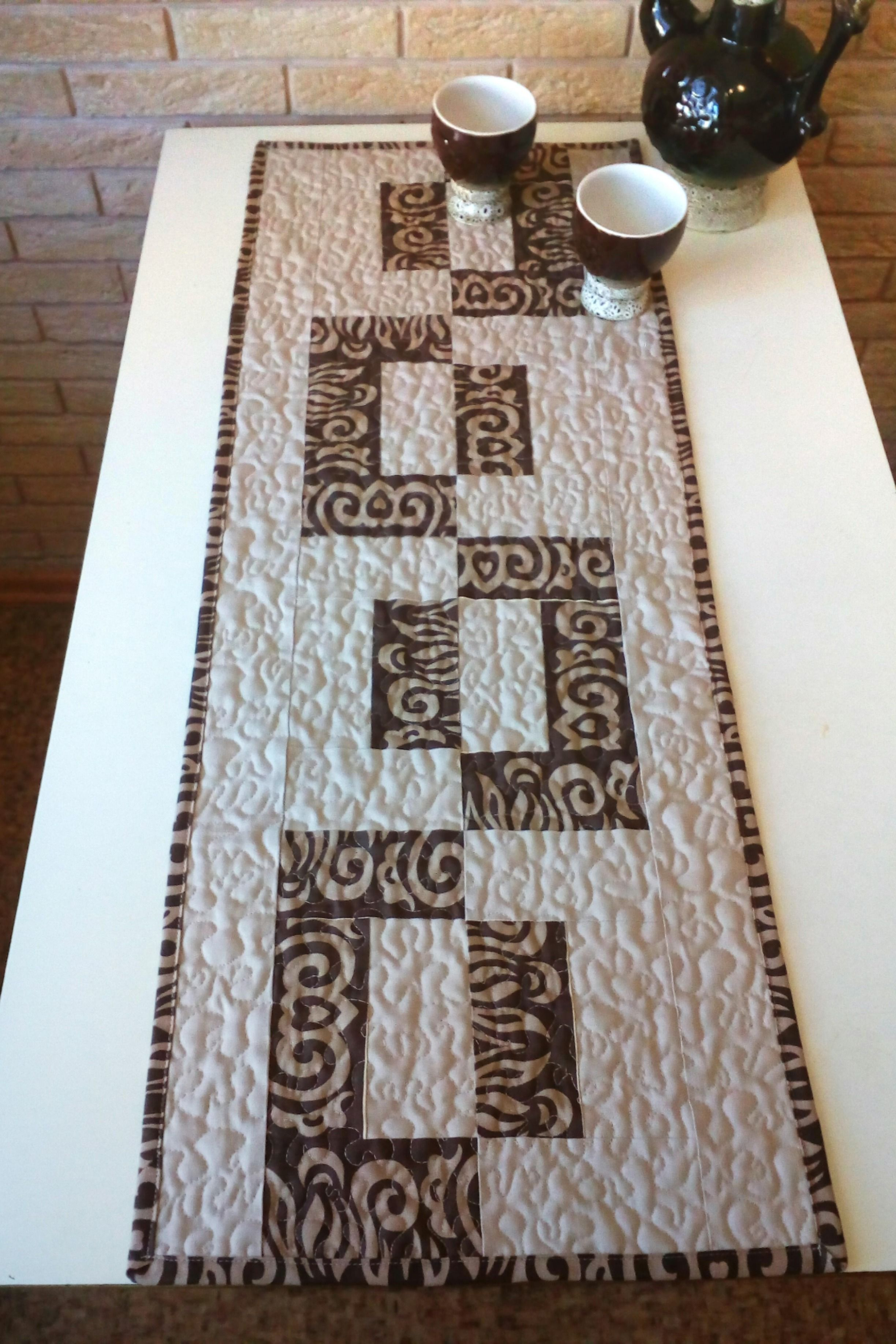 Quilted Table Runners Rustic Table Runners Farmhouse Table Runners