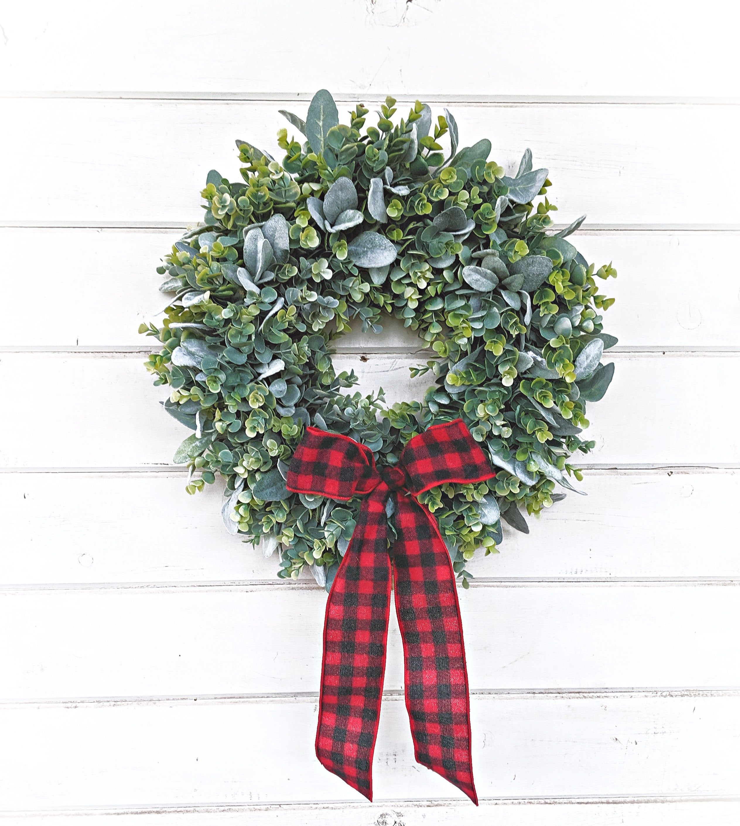 Christmas WreathRustic Farmhouse DecorFarmhouse