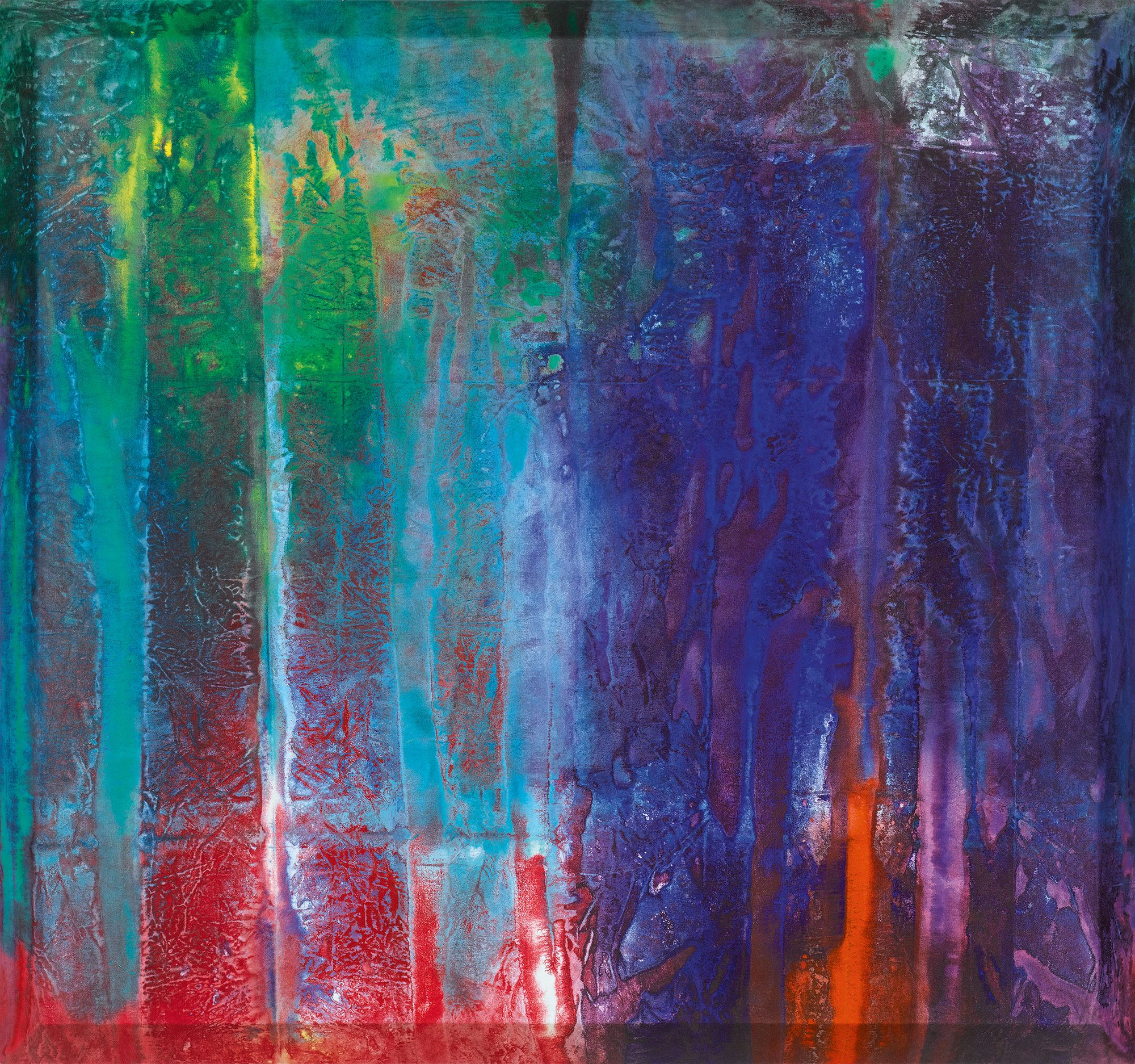 gilliam, sam untitled     abstract     sotheby\'s n09824lot9pxwken ...