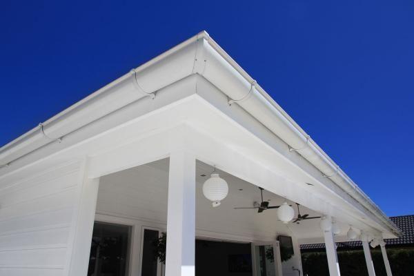 Gutters Guttering Gutter Half Round Building Construction Modern House Outdoor Decor