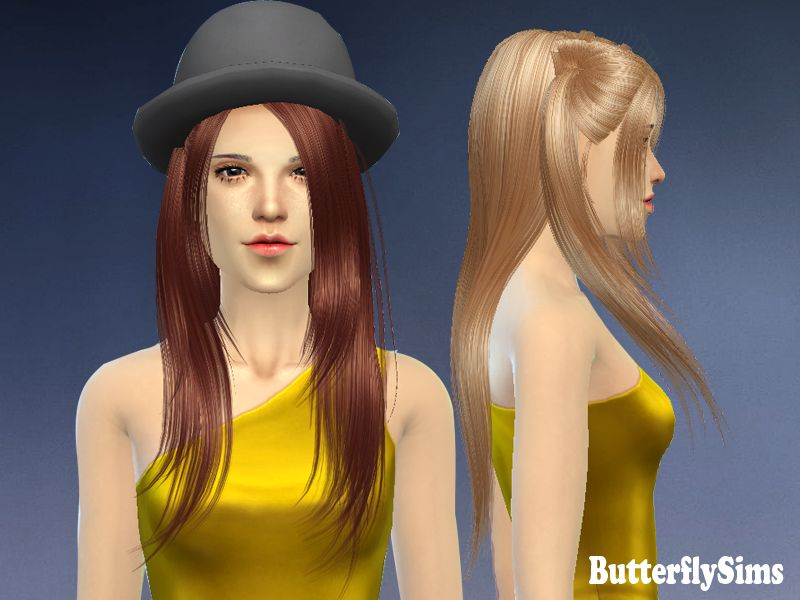 "Hairstyle Games For Free Interesting Hair 1""  Free And Quick To Download  Sims 4 Custom Content"