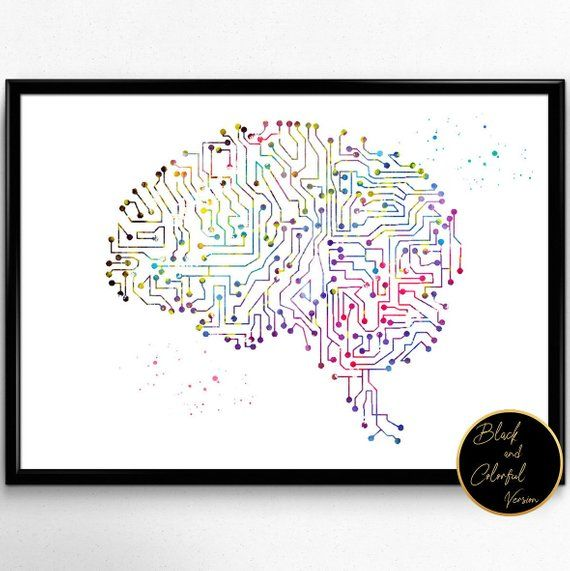 Circuit Board Brain Artificial Intelligence Artificial Brain
