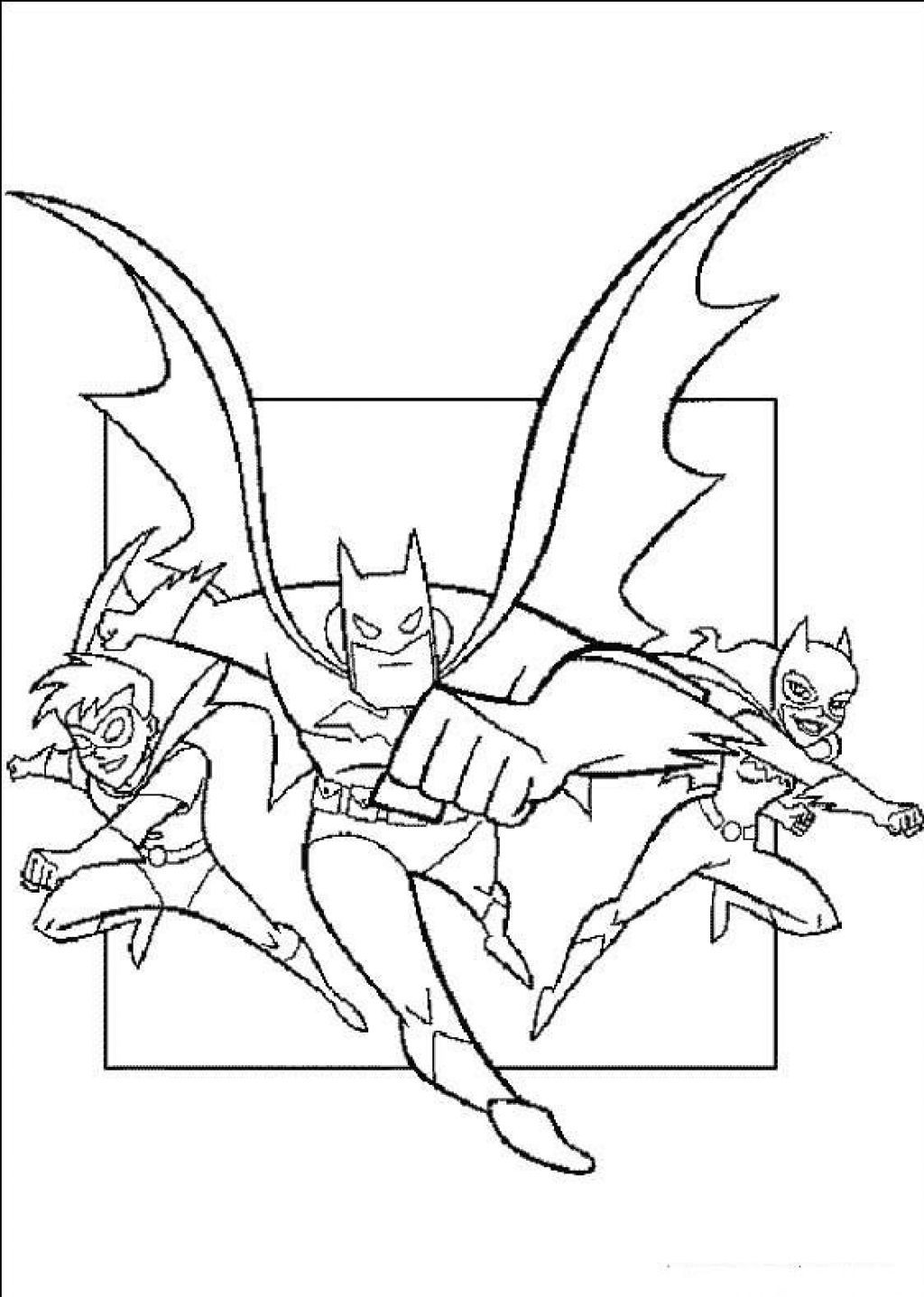 Free Printable Batman Coloring Pages For Kids | Pinterest