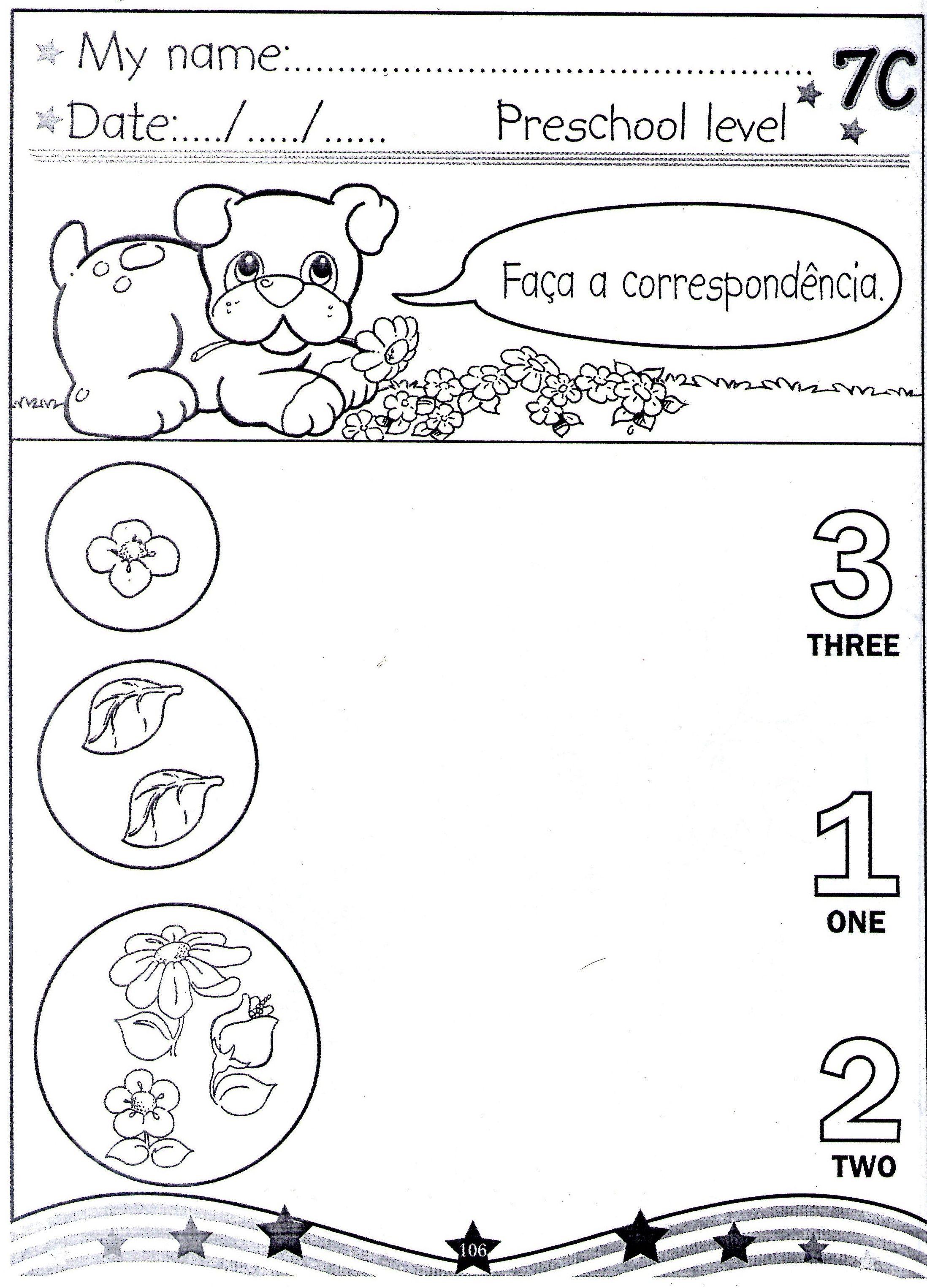 Pin De Agora Que Sou Teacher Aqst Em English For Kids Atividades