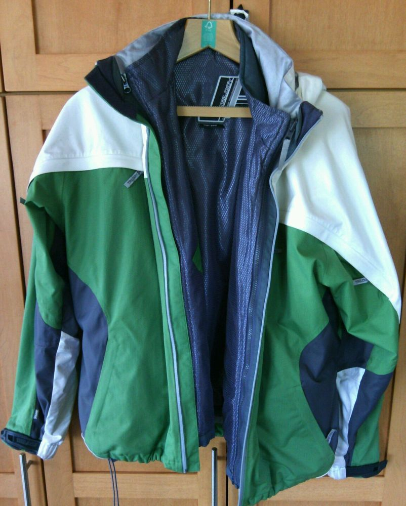 Winter Ski Jacket Size L Snowboarding Trilogy J Powder Room Warm