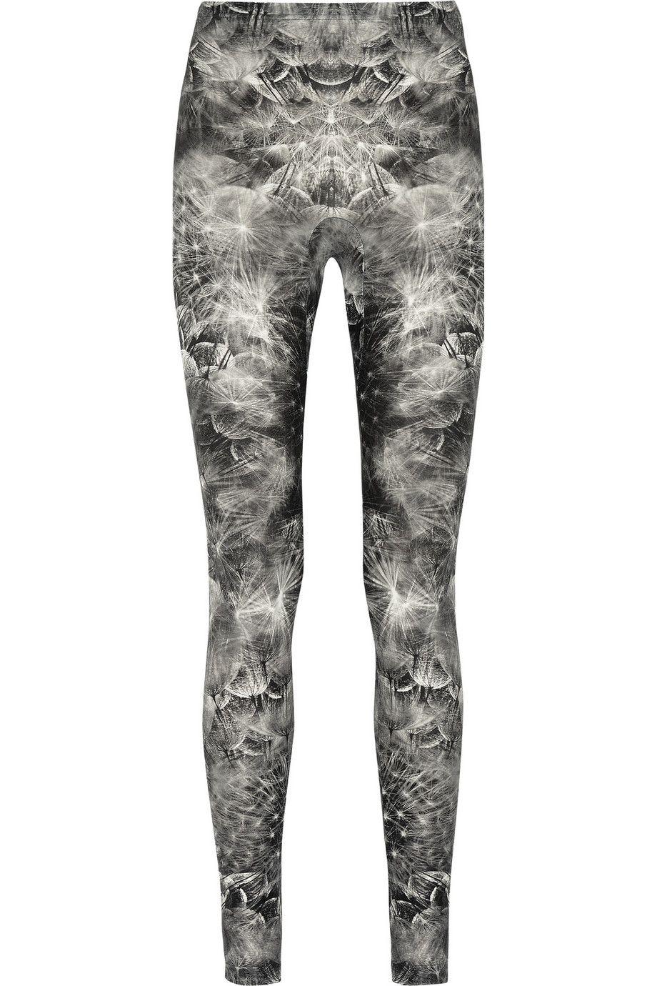 Alexander McQueen|Dandelion-print stretch leggings