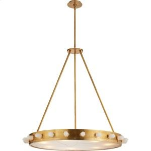 in Antique Burnished Brass by Visual Comfort in Bowling Green KY - Visual Comfort Kelly Wearstler Halcyon 7 Light 33 inch Antique Burnished Brass Pendant ...  sc 1 st  Pinterest & KW5091ABQFRG in Antique Burnished Brass by Visual Comfort in Bowling ...