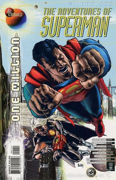 ADVENTURES OF SUPERMAN #1.000.000, DC COMICS, 1.998, USA.