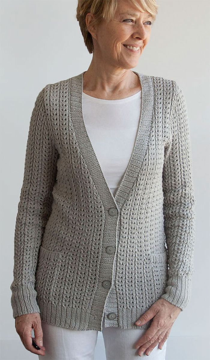 Knitting Pattern For 4 Row Repeat Miss Me Yet Cardigan Long