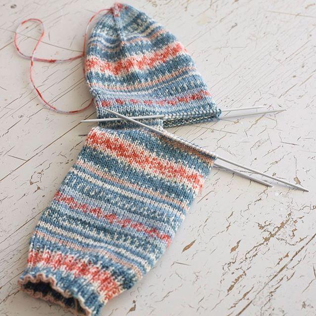 Hiel breien. Makkelijkste sok van de wereld. | knitting techniques ...